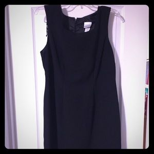 All black, knee length dress, never worn!